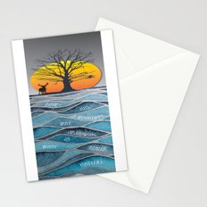 Time Has A Wonderful Way Of Showing Us What Really Matters Stationery Cards