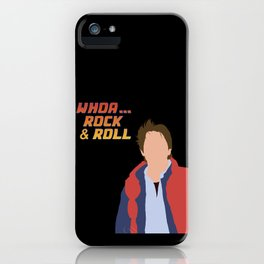 Marty McFly iPhone Case