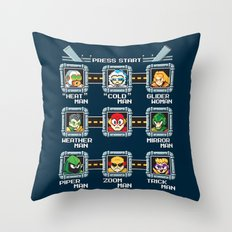 Rogue Masters Throw Pillow