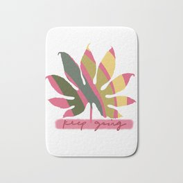 graphic design lynhiart Bath Mat