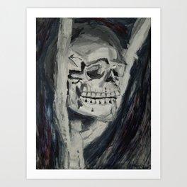 Skull Still-Life Art Print