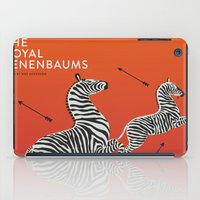 royal tenenbaums iPad Cases featuring Margot's Wallpaper / The Royal Tenenbaums / Wes Anderson by David Ramsay, Jr.