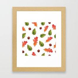 Autumn feelings Framed Art Print