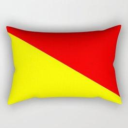 International maritime signal flag sea alphabet collection letter o Rectangular Pillow