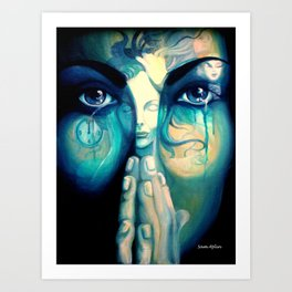 The dreams in which I'm dyin Art Print