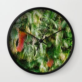 In Love with the Fall in the Tropics Wall Clock
