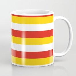 Bhutan dorset flag stripes Coffee Mug