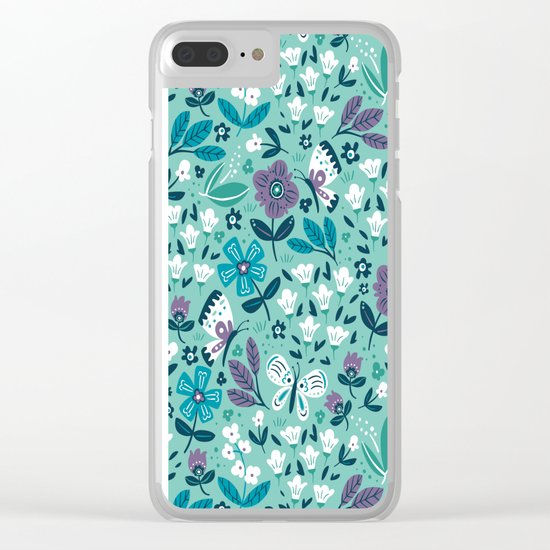 Smile & Shine Clear iPhone Case