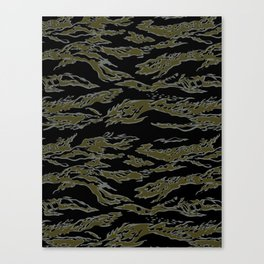 Tiger Camo Canvas Print