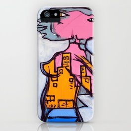 Lizard Lady iPhone Case