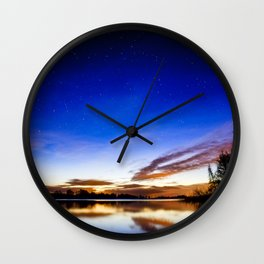 Colorful heaven Wall Clock