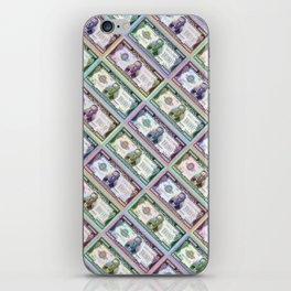 240 Million Dollars Slanted Money Bling Cash Dollar Bills Loot Coin iPhone Skin