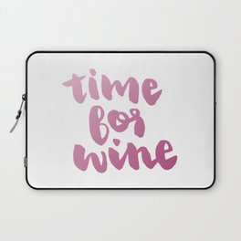 Time for Red Wine  Laptop Sleeve
