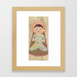 Santih by Justine Aldersey-Williams Framed Art Print