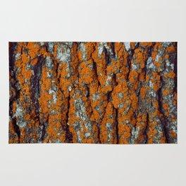 Orange Moss Rug