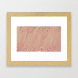 Berries and Cream Framed Art Print