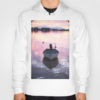 boat Hoodies featuring Boat by Dora Birgis