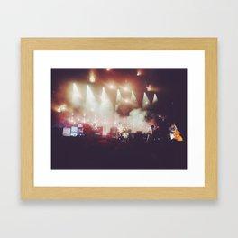 Concert in Austin Framed Art Print
