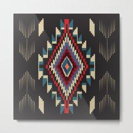 American Native Pattern No. 179 Metal Print