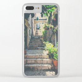 the prettiest of stairs ... Clear iPhone Case