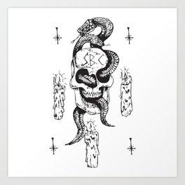 Spooky Boyz Club Art Print