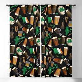 Irish Pub Blackout Curtain
