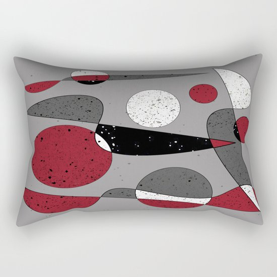 Abstract #156 Rectangular Pillow