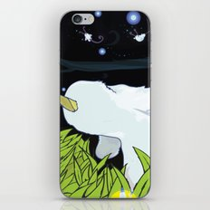chasing apple spores iPhone & iPod Skin