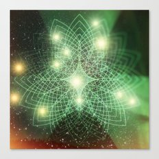 Geometry Dreaming Canvas Print