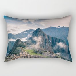 Mountain Peru Rectangular Pillow