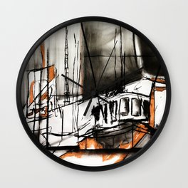 The Trawlers Wall Clock
