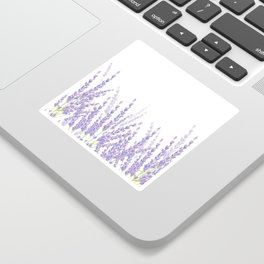Lavender in the Field Sticker