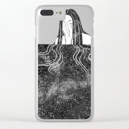 She Weeps Clear iPhone Case