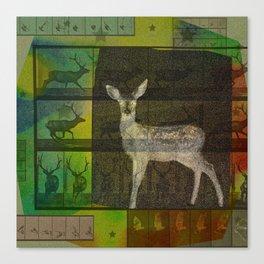 The Animal World Canvas Print