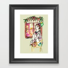 Even ELF shouldn't be alone at Christmas Framed Art Print