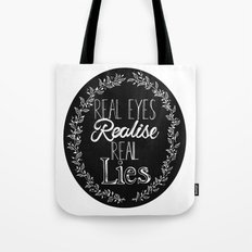 Real Lies Tote Bag