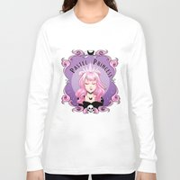 pastel goth Long Sleeve T-shirts featuring Pastel princess by Stevie Wilson