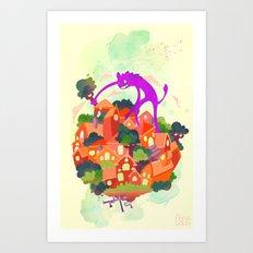 CIVICS 2 Art Print