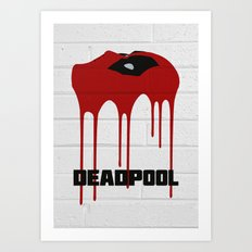 Dead-Pool Alternative Poster Art Print