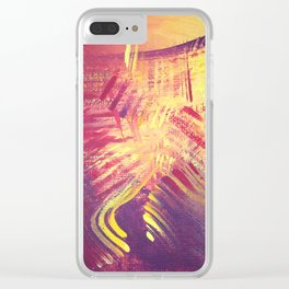 The Sizzle Clear iPhone Case