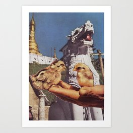 Collage #10 Art Print