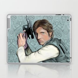 Han Solo StarWars Movie Poster Print Laptop & iPad Skin