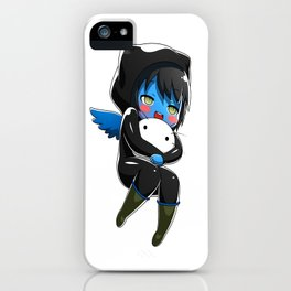 Fuzzy Chibi Luc (Expression 1)  iPhone Case