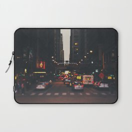 sunset in the city ... Laptop Sleeve