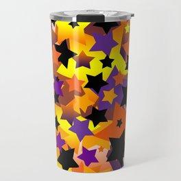 Halloween Star Crazy Travel Mug