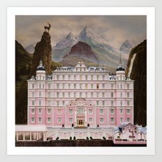 The Grand Budapest Art Print