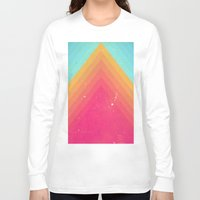 pyramid Long Sleeve T-shirts featuring Pyramid by OEVB