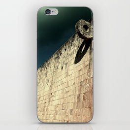 The Ball Court iPhone Skin