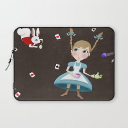 Falling into a Land of Wonder Laptop Sleeve