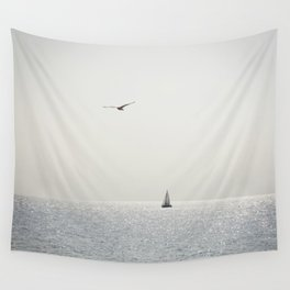 Fly over the sea Wall Tapestry